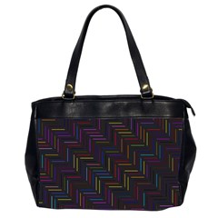 Lines Line Background Office Handbags (2 Sides)
