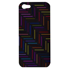 Lines Line Background Apple Iphone 5 Hardshell Case
