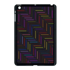 Lines Line Background Apple Ipad Mini Case (black)