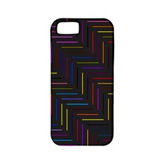Lines Line Background Apple Iphone 5 Classic Hardshell Case (pc+silicone)
