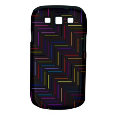 Lines Line Background Samsung Galaxy S Iii Classic Hardshell Case (pc+silicone)