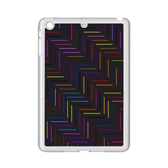 Lines Line Background Ipad Mini 2 Enamel Coated Cases