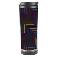 Lines Line Background Travel Tumbler