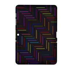 Lines Line Background Samsung Galaxy Tab 2 (10 1 ) P5100 Hardshell Case
