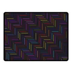 Lines Line Background Double Sided Fleece Blanket (small)
