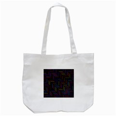 Lines Line Background Tote Bag (white)