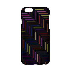 Lines Line Background Apple Iphone 6/6s Hardshell Case