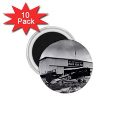 Omaha Airfield Airplain Hangar 1 75  Magnets (10 Pack)