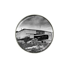 Omaha Airfield Airplain Hangar Hat Clip Ball Marker (10 Pack)