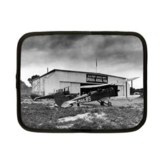 Omaha Airfield Airplain Hangar Netbook Case (small)