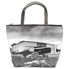 Omaha Airfield Airplain Hangar Bucket Bags