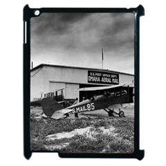 Omaha Airfield Airplain Hangar Apple Ipad 2 Case (black)
