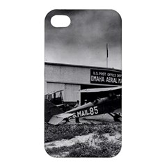 Omaha Airfield Airplain Hangar Apple Iphone 4/4s Hardshell Case