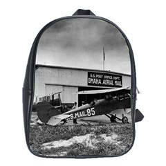 Omaha Airfield Airplain Hangar School Bag (xl)