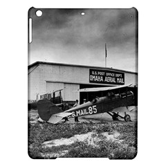 Omaha Airfield Airplain Hangar Ipad Air Hardshell Cases