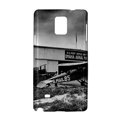 Omaha Airfield Airplain Hangar Samsung Galaxy Note 4 Hardshell Case