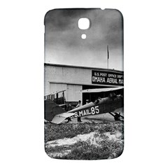 Omaha Airfield Airplain Hangar Samsung Galaxy Mega I9200 Hardshell Back Case