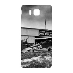 Omaha Airfield Airplain Hangar Samsung Galaxy Alpha Hardshell Back Case