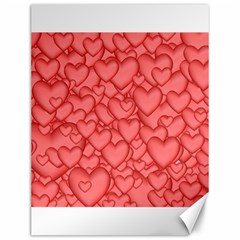 Background Hearts Love Canvas 12  X 16