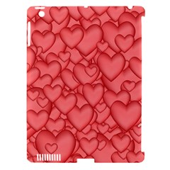Background Hearts Love Apple Ipad 3/4 Hardshell Case (compatible With Smart Cover)
