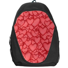 Background Hearts Love Backpack Bag