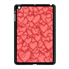 Background Hearts Love Apple Ipad Mini Case (black)