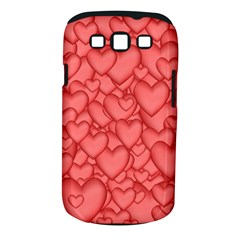 Background Hearts Love Samsung Galaxy S Iii Classic Hardshell Case (pc+silicone)