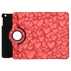 Background Hearts Love Apple Ipad Mini Flip 360 Case