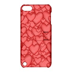 Background Hearts Love Apple Ipod Touch 5 Hardshell Case With Stand