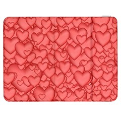 Background Hearts Love Samsung Galaxy Tab 7  P1000 Flip Case