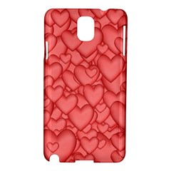 Background Hearts Love Samsung Galaxy Note 3 N9005 Hardshell Case