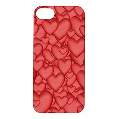 Background Hearts Love Apple Iphone 5s/ Se Hardshell Case