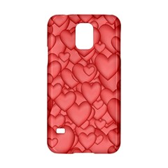 Background Hearts Love Samsung Galaxy S5 Hardshell Case