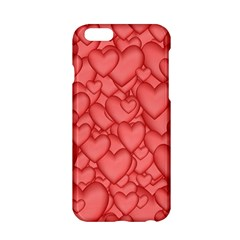 Background Hearts Love Apple Iphone 6/6s Hardshell Case