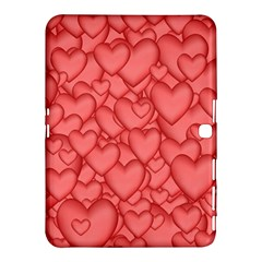 Background Hearts Love Samsung Galaxy Tab 4 (10 1 ) Hardshell Case