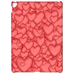 Background Hearts Love Apple Ipad Pro 12 9   Hardshell Case