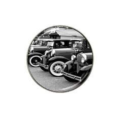 Vehicle Car Transportation Vintage Hat Clip Ball Marker (10 Pack)