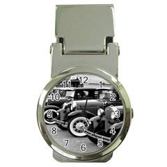 Vehicle Car Transportation Vintage Money Clip Watches