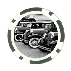 Vehicle Car Transportation Vintage Poker Chip Card Guard