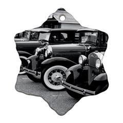 Vehicle Car Transportation Vintage Ornament (snowflake)