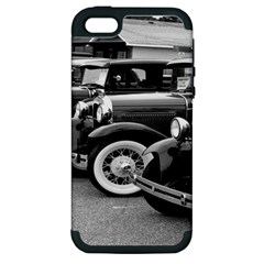 Vehicle Car Transportation Vintage Apple Iphone 5 Hardshell Case (pc+silicone)