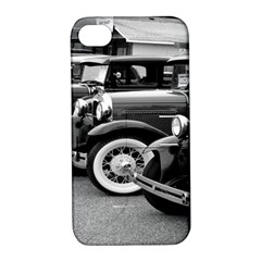 Vehicle Car Transportation Vintage Apple Iphone 4/4s Hardshell Case With Stand