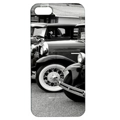 Vehicle Car Transportation Vintage Apple Iphone 5 Hardshell Case With Stand