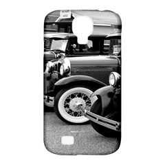 Vehicle Car Transportation Vintage Samsung Galaxy S4 Classic Hardshell Case (pc+silicone)