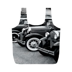 Vehicle Car Transportation Vintage Full Print Recycle Bags (m)