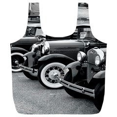 Vehicle Car Transportation Vintage Full Print Recycle Bags (l)  by Nexatart