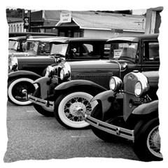 Vehicle Car Transportation Vintage Large Flano Cushion Case (one Side)