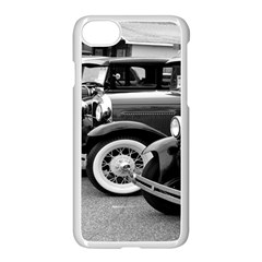 Vehicle Car Transportation Vintage Apple Iphone 7 Seamless Case (white)