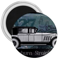 Vintage Car Automobile Auburn 3  Magnets