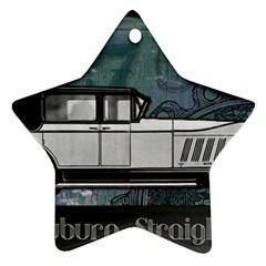 Vintage Car Automobile Auburn Ornament (star)